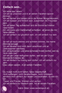 Trauer Gedicht Seelensport